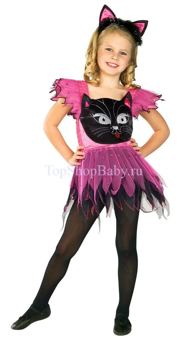 Карнавальные костюмы для девочек своими руками кошка 164