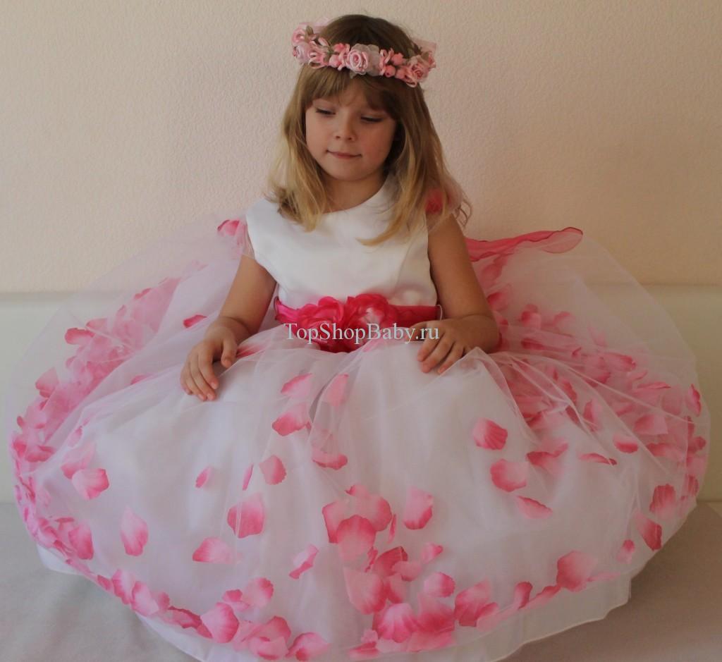 Как сшить платье для девочки цветок 27